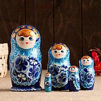 """Матрёшка 5-ти кукольная """"Маргарита"""" летняя, 14-15 см, ручная роспись"""
