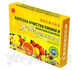 Капсулы из фруктов для очищения кишечника, 24 капсулы