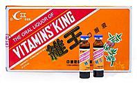 Эликсир для повышения иммунитета VITAMINS KING (царь-витаминов), 10 флаконов