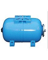 Мембранный расширительный бак Nema NEQ 100 LT Horizontal expansion vessel 10 bar blue