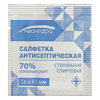Салфетка спиртовая 65*56