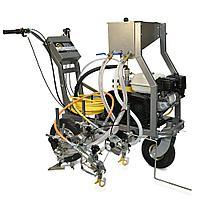 Разметочная машина с комплектом для стеклошариков на 2 пистолета Schtaer Wega 6G, фото 1