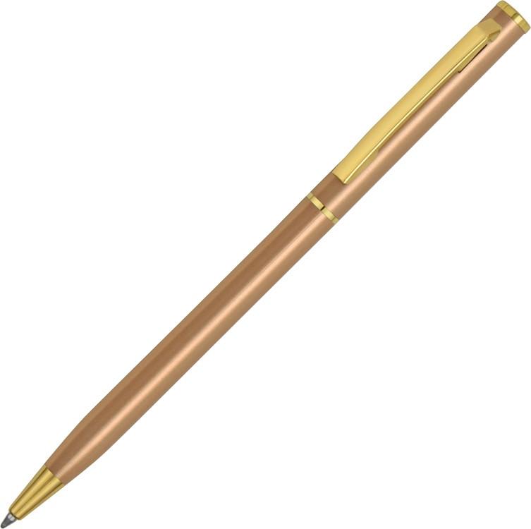 Ручка шариковая Жако, медно-золотистый