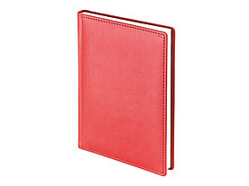 Ежедневник А5 датированный Velvet 2022, красный