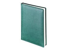 Ежедневник А5 датированный Velvet 2022, зеленый