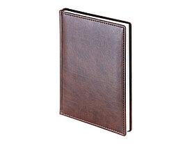 Ежедневник А5 датированный Velvet 2022, коричневый