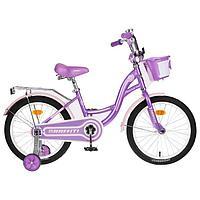 Велосипед 20' Graffiti Premium Girl, цвет сиреневый/розовый