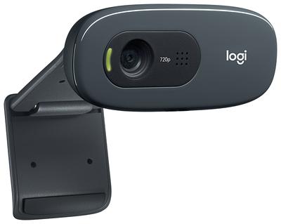 Web-камера Logitech HD Webcam C270, черный