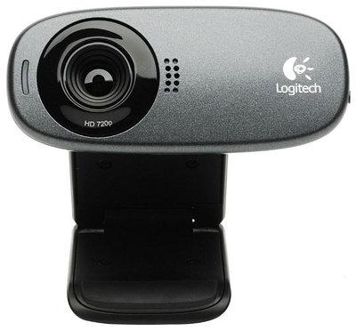 Web-камера Logitech HD Webcam C310, серый