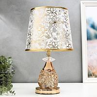 Лампа настольная 'Мурайя' E27 40W низ с подсветкой 24х24х40,5 см