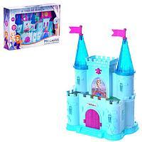 Замок для кукол 'Принцессы' свет, звук, с принцессой и аксессуарами