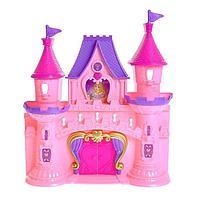 Замок для кукол 'Мечта' свет, звук, с фигурками и аксессуарами