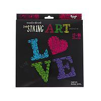 Набор креативного творчества 'Тонкая нить' серии 'STRING ART', LOVE STRA-01-03