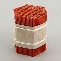 Свечи красные церковные 100, упаковка 2кг