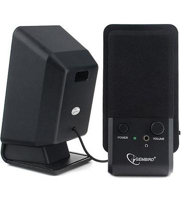 Акустическая система SPK active Gembird SPK-510 (2.0), RMS 3Wx2, USB power, Black