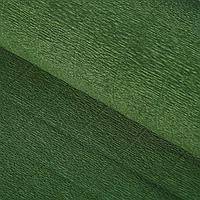 Бумага гофрированная, 961 'Темно-зелёная', 50 см х 2,5 м