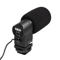 Микрофон для фотоаппарата или видеокамеры BOYA BY-V01, фото 1