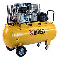 Компрессор воздушный рем. привод BCI4000-T/200, 4,0 кВт, 200 литров, 690 л/мин// Denzel