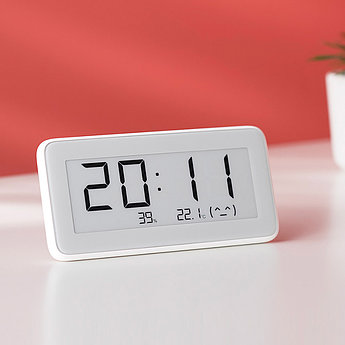 Термометр-часы и гигрометр Xiaomi Mijia BT4.0 Wireless Smart Electric Digital Clock