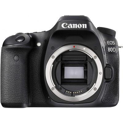 "Цифровая камера Canon EOS-80D Body, 24.2Mpx, JPEG/RAW, 3.0"",Li-Ion, Wi-Fi, NFC, Black"
