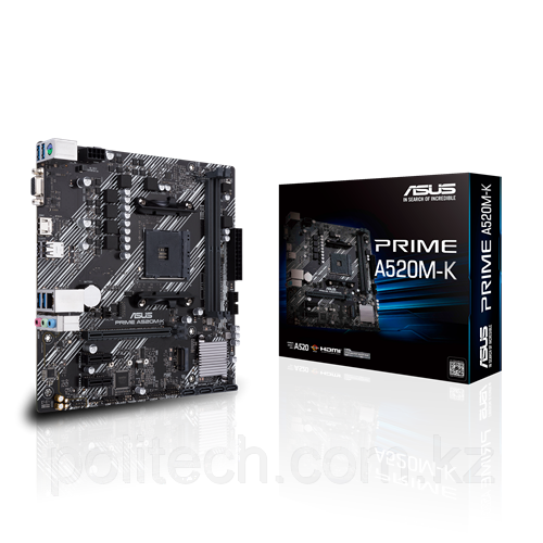 Материнская плата Asus PRIME A520M-K