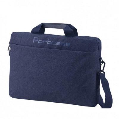 """Сумка для ноутбука  Portcase KCB-160 DB 15.6"""" темно синий"""