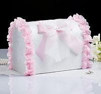 Коробка для денег Мечта розовая неразборная