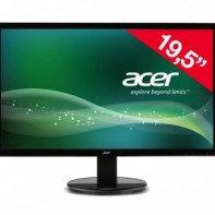 """LED Монитор 19.5"""" Acer K202HQLAb черный"""