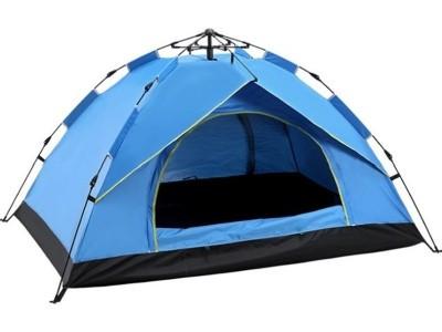 Туристическая палатка автомат 4-х местная зонтовая - фото 1
