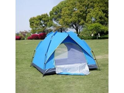 Туристическая палатка автомат 4-х местная зонтовая - фото 2