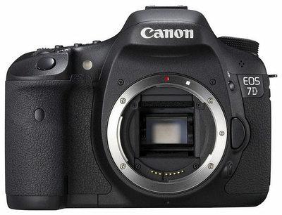 Цифровая камера Canon EOS-7D Body черный