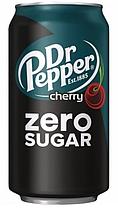 Dr.Pepper Cherry Zero 355ml США (12шт-упак)