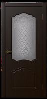 Дверь межкомнатная Боненти, Коллекция Венто 600, Венге, Остекленное
