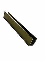 Профиль DG-1 опорный под стекло 8мм. 19х13 2200мм. | FGD-206.1 BR | Бронзовый