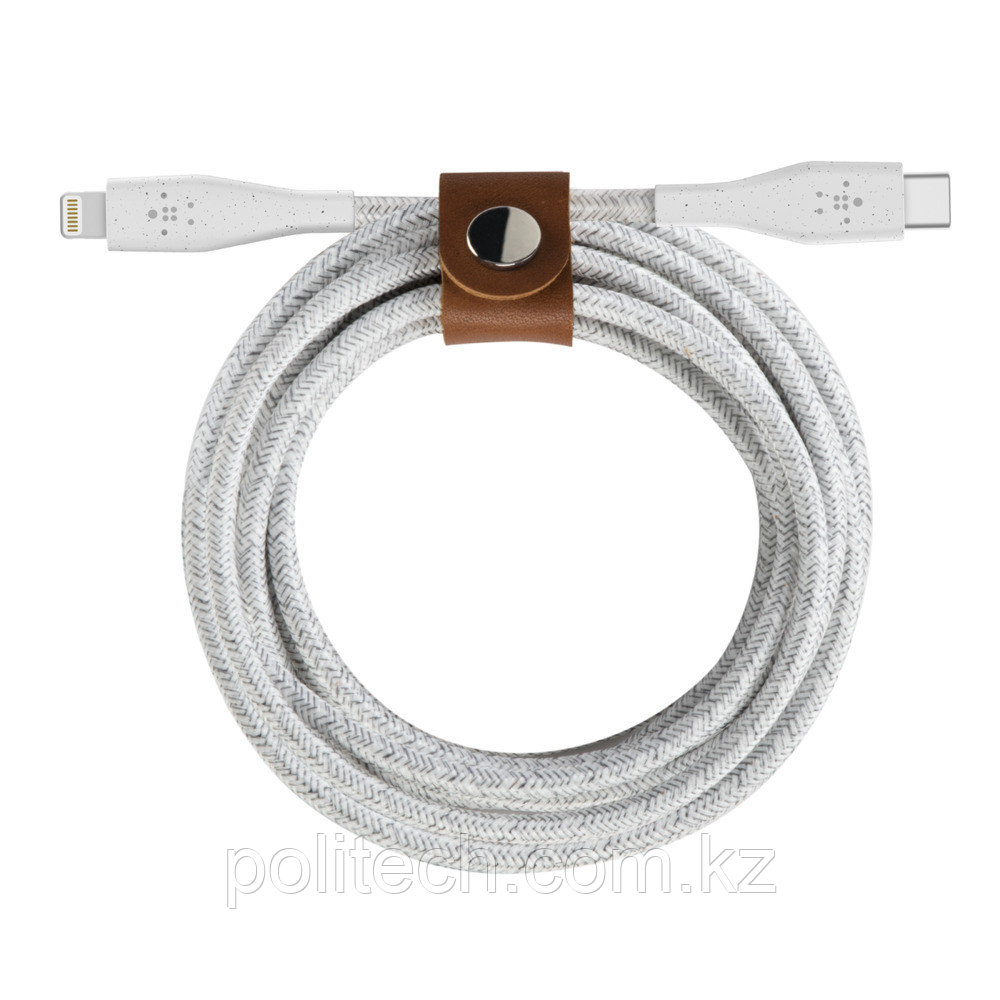 Кабель Belkin DuraTek Plus USB-C - Lightning