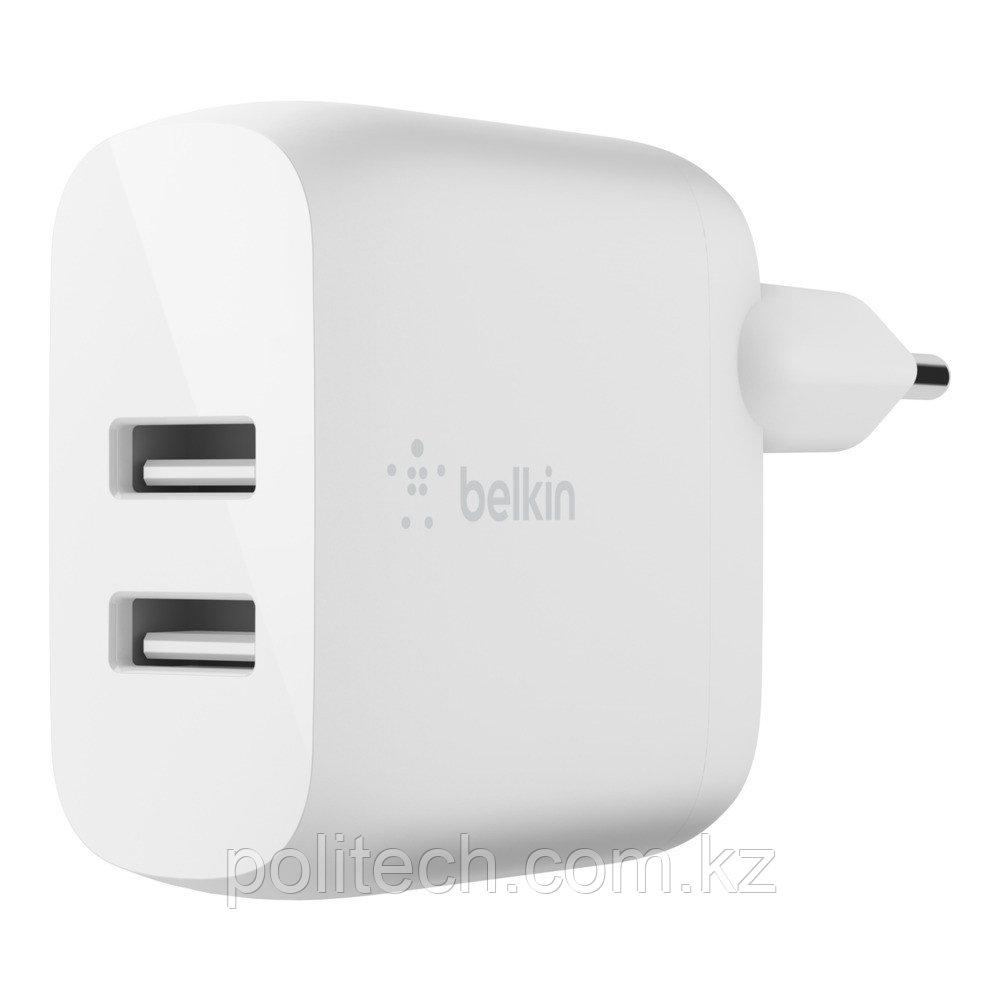 Сетевое ЗУ Belkin Home Charger 24W DUAL USB 2.4A