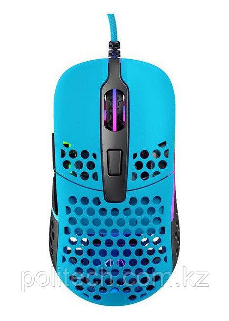Мышь игровая Xtrfy M42 RGB USB Miami Blue