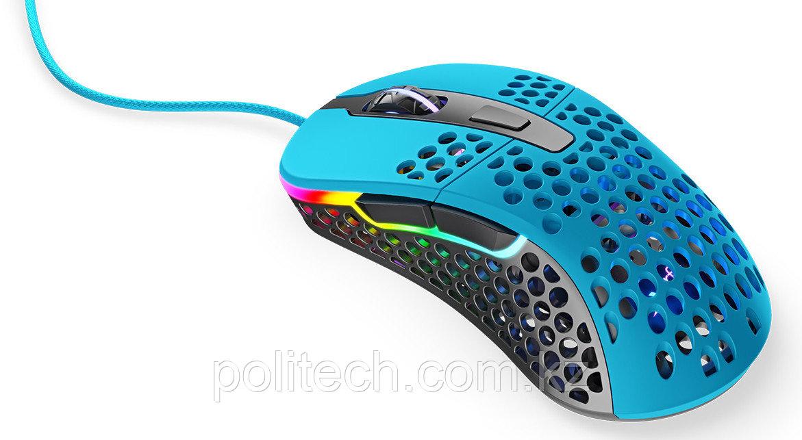 Мышь игровая Xtrfy M4 RGB, Miami Blue