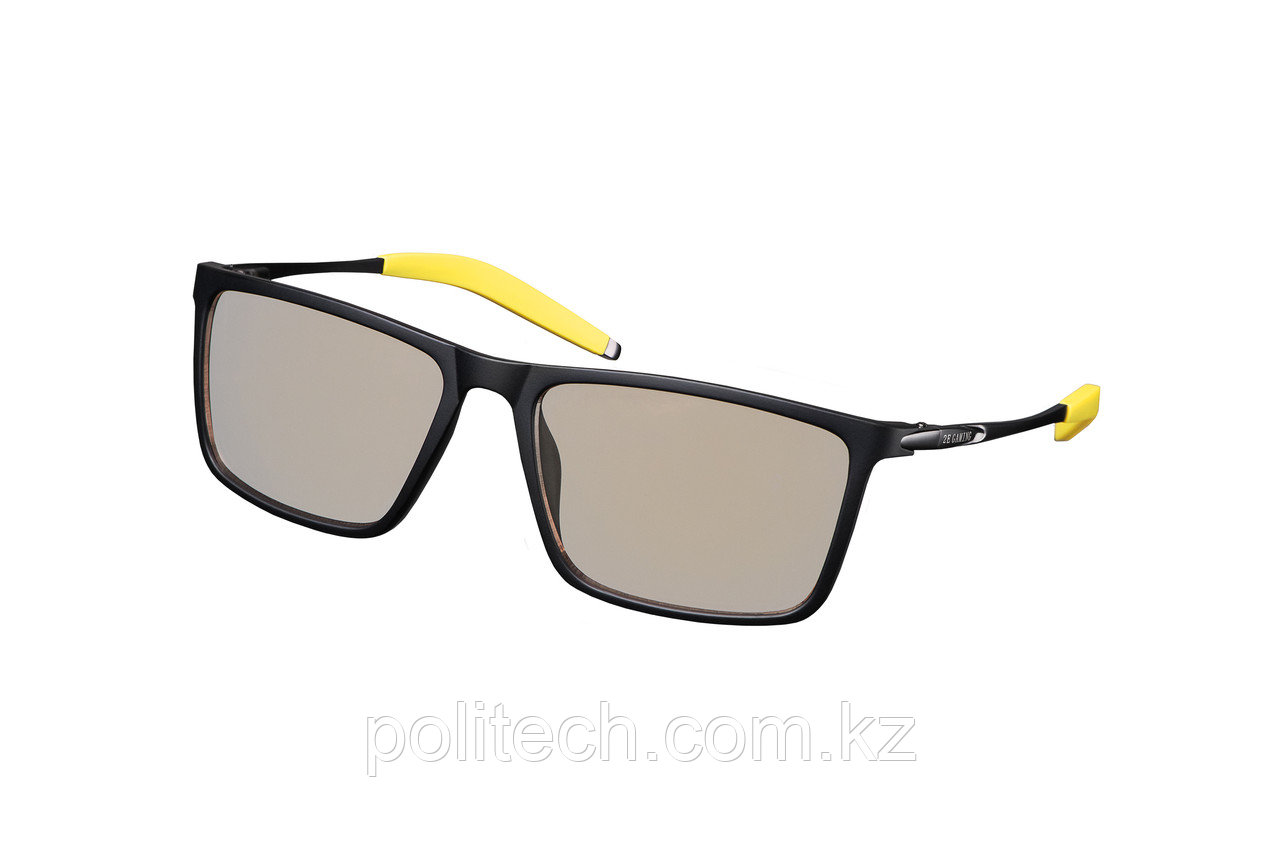 Очки 2Е Gaming Anti-blue Glasses Black-Yellow с антибликовым покрытием