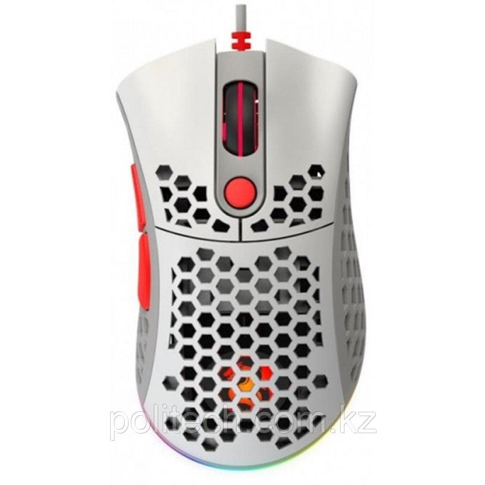Мышь игровая 2E GAMING HyperSpeed Lite, RGB Retro White