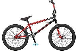 Трюковый Велосипед BMX GT Slammer Satin Black-Gloss. Kaspi RED. Рассрочка
