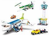 Конструктор SLUBAN Авиация M38-B0930 Аэропорт аналог лего lego Самолеты большой набор 731 деталь, фото 2
