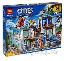 Конструктор Bela City 10865 ¨Полицейский участок в горах¨ 705 дет аналог LEGO City 60174