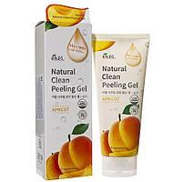Ekel Apricot Natural Clean Peeling Gel - Пилинг-скатка с экстрактом абрикоса