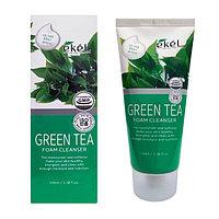 Ekel Green Tea Cleanser Foam Пенка с экстрактом зеленого чая
