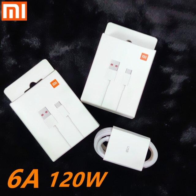Кабель USB/Type-C Xiaomi TPE 6А- 100см Белый
