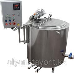 Ванна длительной пастеризации (ВДП 200 литров, паровая, охл.змеевик) ИПКС-072-200-01П(Н)