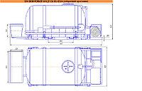 Поливочный модуль DL-ПМ4 (габаритний кресленик)