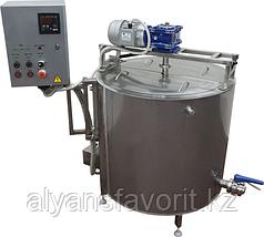 Ванна длительной пастеризации (ВДП 200 литров, паровая, откидная рама) ИПКС-072-200МП(Н)