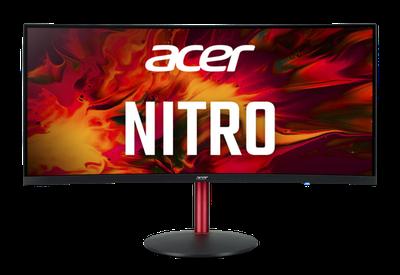 """Монитор Acer NITRO XZ342CKPbmiiphx 34"""" черный"""